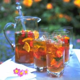 Everyone's favourite: fruity refreshing Pimm's
