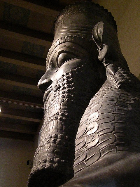 Colossal statue from ancient Persepolis.