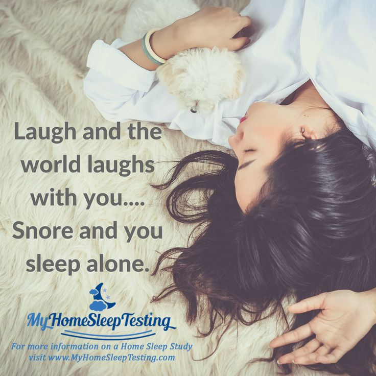 It's just rude, I tell you! Snoring could be a sign of a serious sleep disorder, so if you snore your partner out of bed, contact My Home Sleep Testing today for a home sleep study #sleep  #snoringpartner #soloud