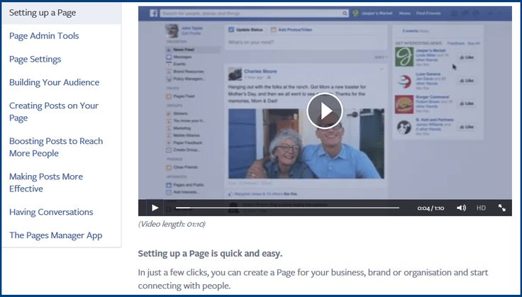 How to set up a business on Facebook