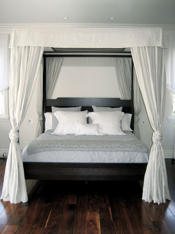 Best 25+ Canopy bed curtains ideas on Pinterest   Bed curtains, Bed canopy  diy and Bed with curtains