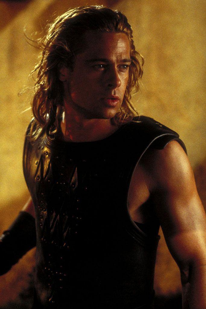 Uno de los papeles en los que el actor lucío más cuerpo que talento fue dando vida a Aquiles en Troya (2004). El actor ganó músculo para las escenas de acción de la película.