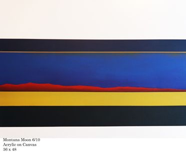 Ben Colbert's Minimalist Landscapes On View at PTS Erdman Center Gallery | Town Topics