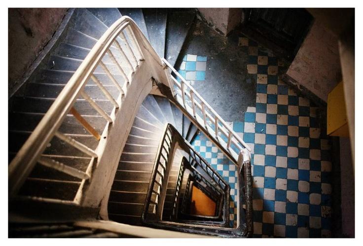 Staircase, Praga District, Warsaw