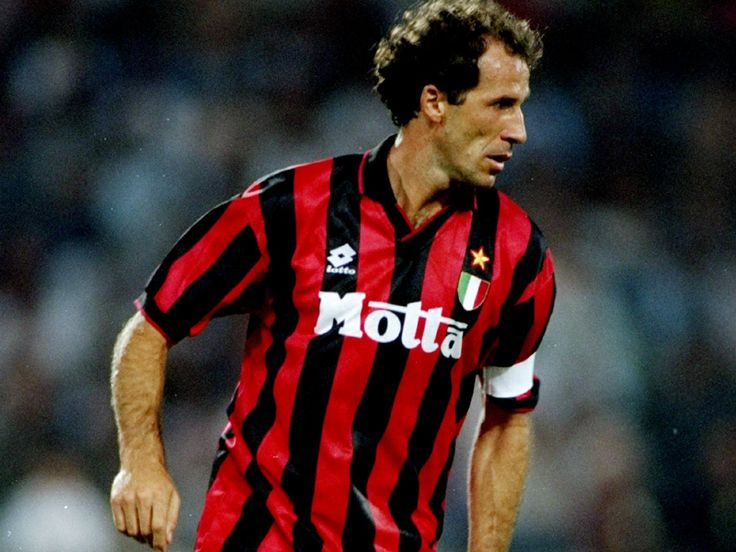Franco Baresi - The greatest defender the world has ever seen, led AC Milan in their greatest period in the 80's & 90's, Leader, Organizer and discipled beyond belief. The first icon on this board and a wonderful servant to football and defending