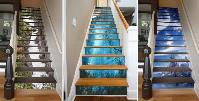 A Brilliant Way to Decorate Your Stairs: Stairway Art Ideas