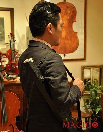 2本用弓ケース♡バイオリン~チェロ兼用