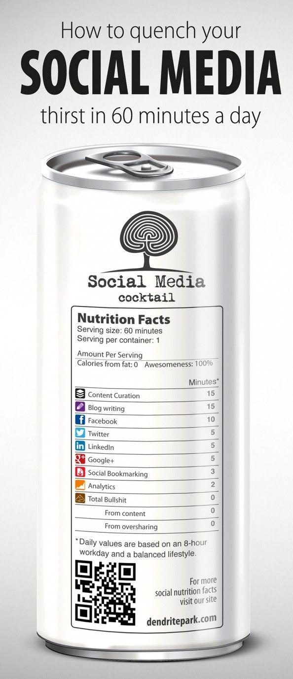 #SocialMedia Cocktail