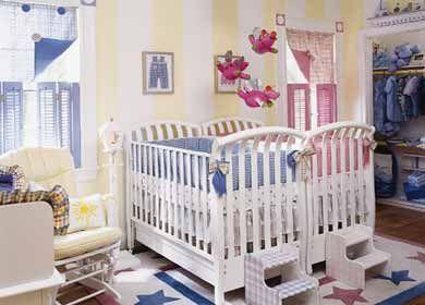 Fotos e Dicas para Quartos de Bebês Gêmeos e Decoração