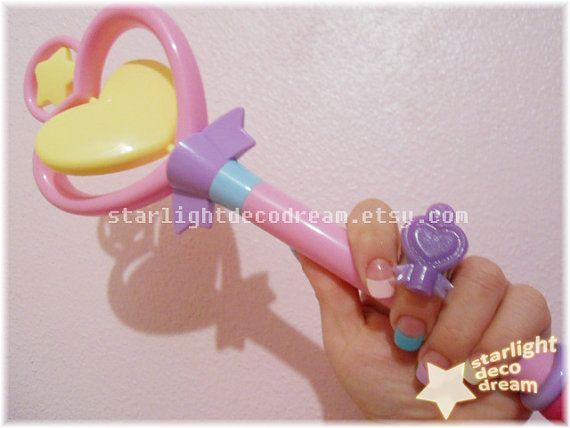 CHOOSE ONE Magical Girl Creamy Mami Wand by StarlightDecoDream, $10.00