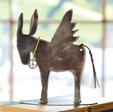 Winged donkey of peace by   Jes MaHarry and Patrick Henderson: Yes Maharri, Trade Beads, Pet Donkeys, Mexicans Hairless, Sundanc Catalog, Peace Charms, Wings Donkeys, Rolls Steel, Cold Rolls