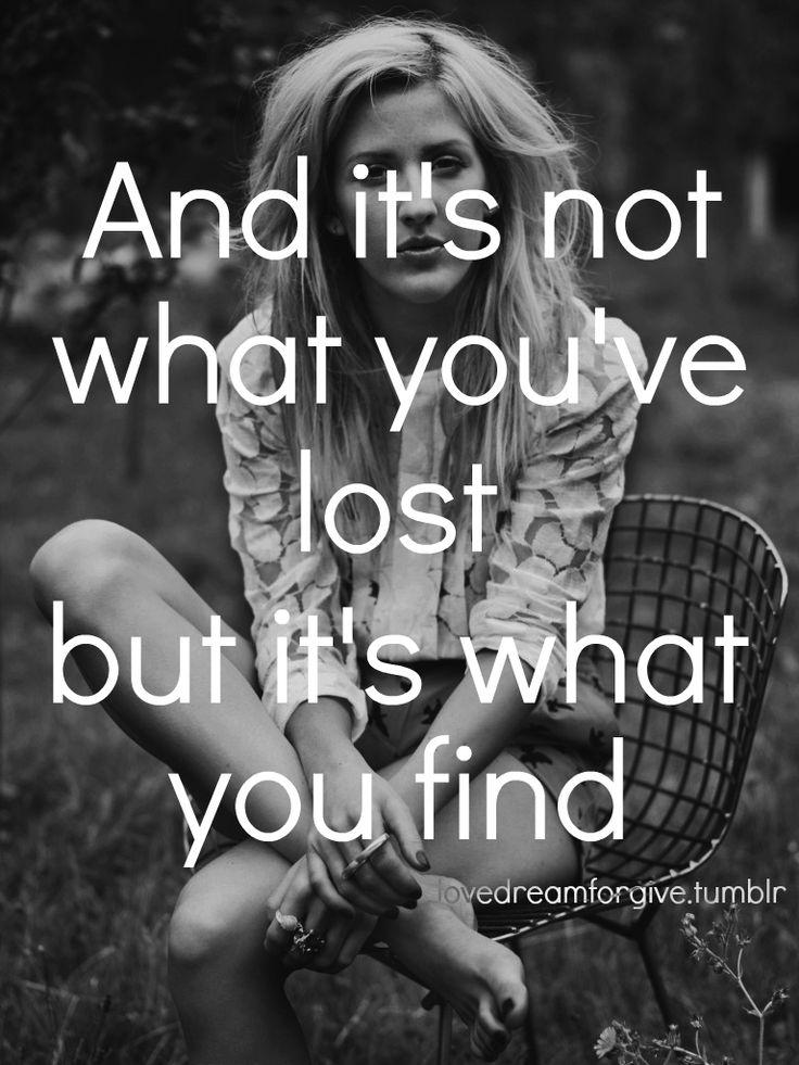 Ellie Goulding- Wish I Stayed lyrics