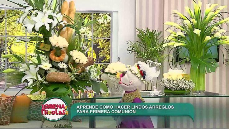 La especialista Carola Suárez indicó que para realizar la base de los arreglos florales se puede utilizar como base una pieza de pan. Ingresa a http://ptv.pe...