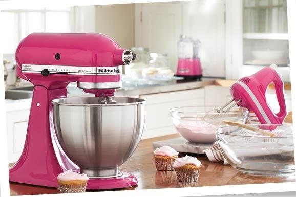 Hot Pink Kitchen Appliances