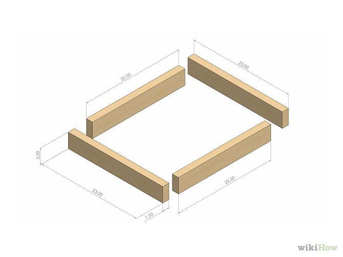 Les 25 meilleures id es concernant plans de niche pour chien sur pinterest - Plan pour fabriquer un lit ...