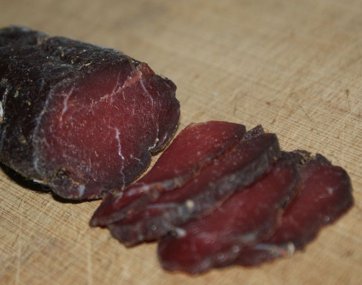 Venison Bresaola Dried cured venison loin!  I'm trying it!