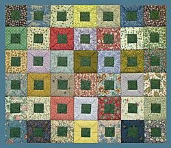 Free Japanese Quilt Patterns | quilt pattern by tikki patchwork japanese style folded square quilt ...