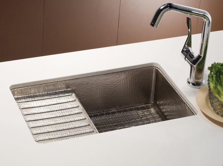 Native Trails Copper Bar U0026 Prep Sink   Cantina Pro CPS533 U2013 Brushed Nickel  Finish