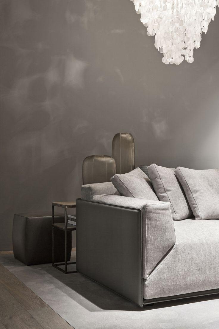 Superior MERIDIANI I BACON Kuoio Sofa With Saddle Leather Shell   Design By ANDREA  PARISIO