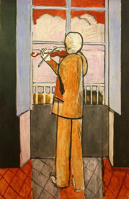 Henri Matisse, The violinist at the window