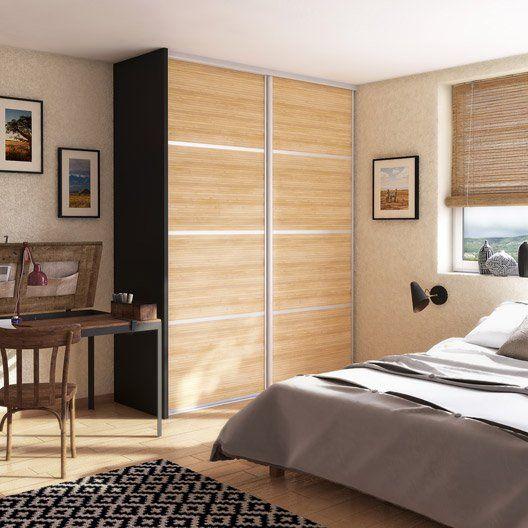 porte de placard coulissante composer spaceo d cor. Black Bedroom Furniture Sets. Home Design Ideas