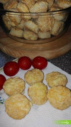 NoCarb Noodle - szénhidrátmentes receptek - Sajtos-túrós pogácsa