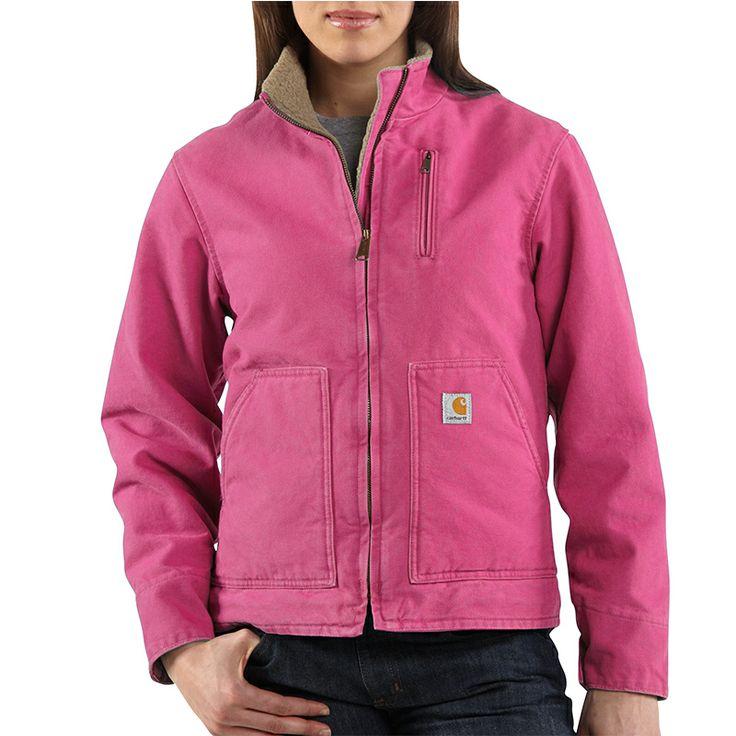 Women's Canyon Sandstone Pink Carhartt Jacket #WJ022677 -$74.99 from Dickey Bub Farm & Home