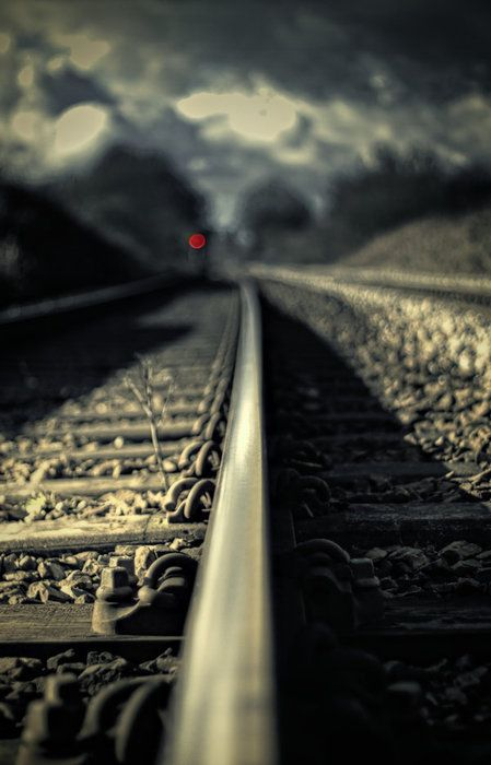 railroad - this is simply a stunning photograph - love everything about it