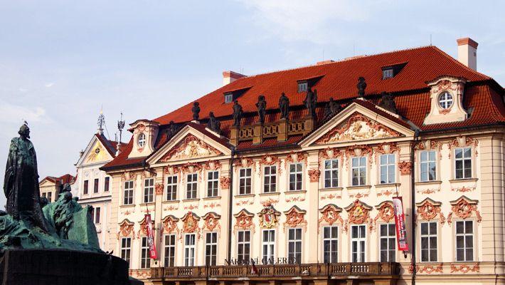 Palatul Kinsky O vacanta in Praga in imagini - galerie foto. Vezi mai multe poze pe www.ghiduri-turistice.info