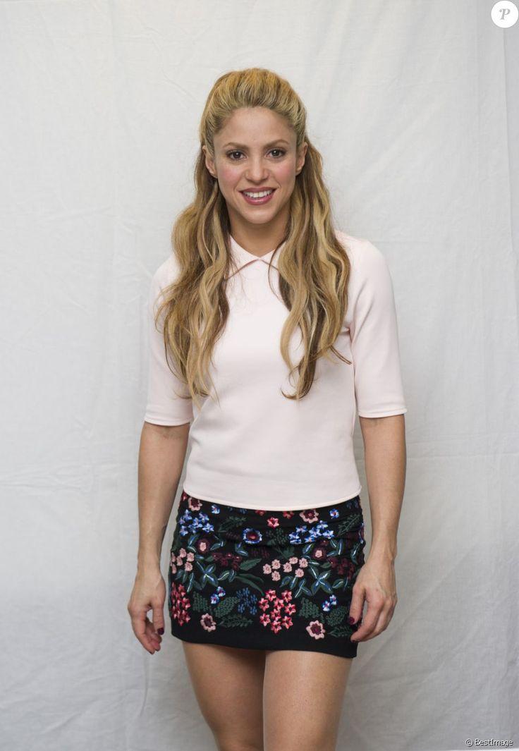"""Shakira à la conférence de presse de """"Zootopia"""" à Los Angeles le 17 février 2016."""
