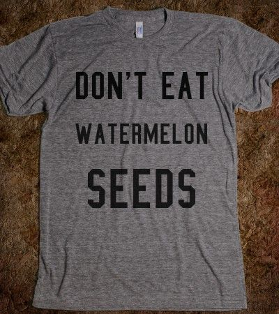Don't eat watermelon seeds maternity shirt. by TheAvenueL on Etsy