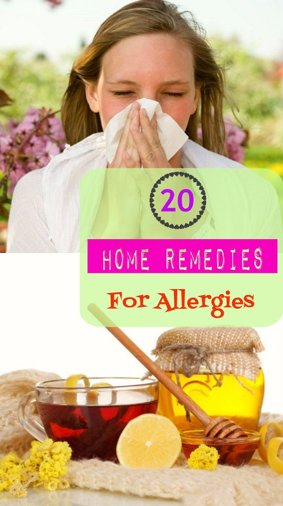homeremedyshop: 20 Home Remedies for Allergies