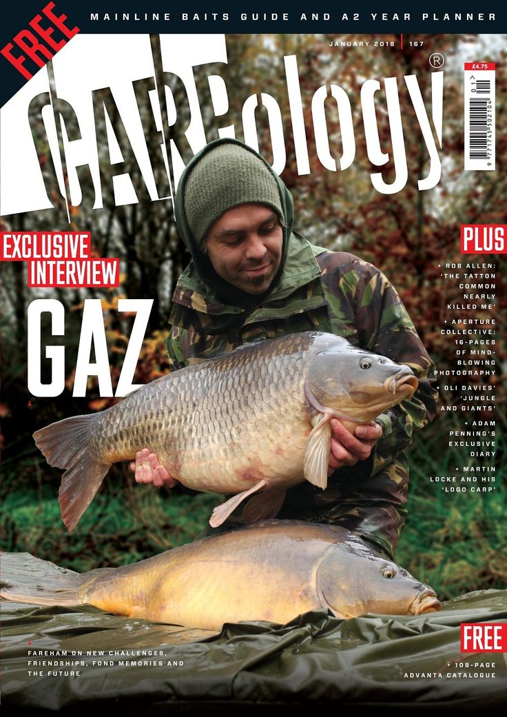 CARPology Magazine January 2018 (Issue 167) CARPology is carp fishings biggest monthly read and this month you get a free 32-page OlogyFix supplement in association with Mainline Baits plus you will also receive a free A2 year planner! Inside the January edition of CARPology - read our exclusive interview with Gaz Fareham, Rob Allen on how the Tatton common nearly killed him and read about Oli Davies trip to the mighty Rainbow. Also featuring Adam Penning, Martin Locke and Ed Betteridge!
