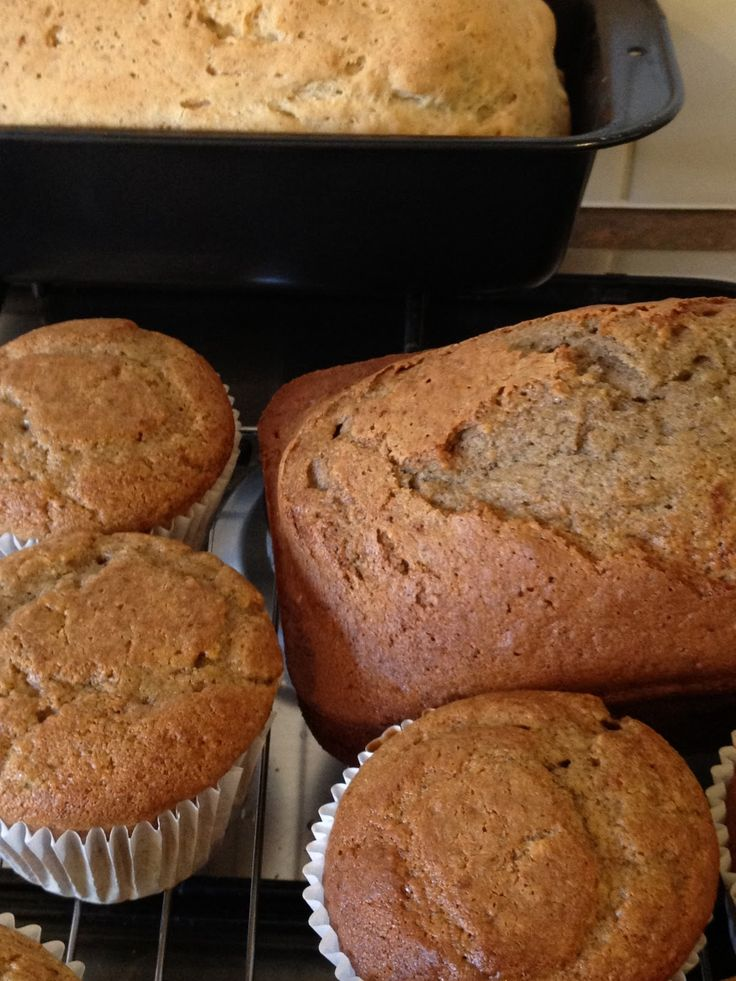 Low Salicylate (& gluten free) - Banana Bread
