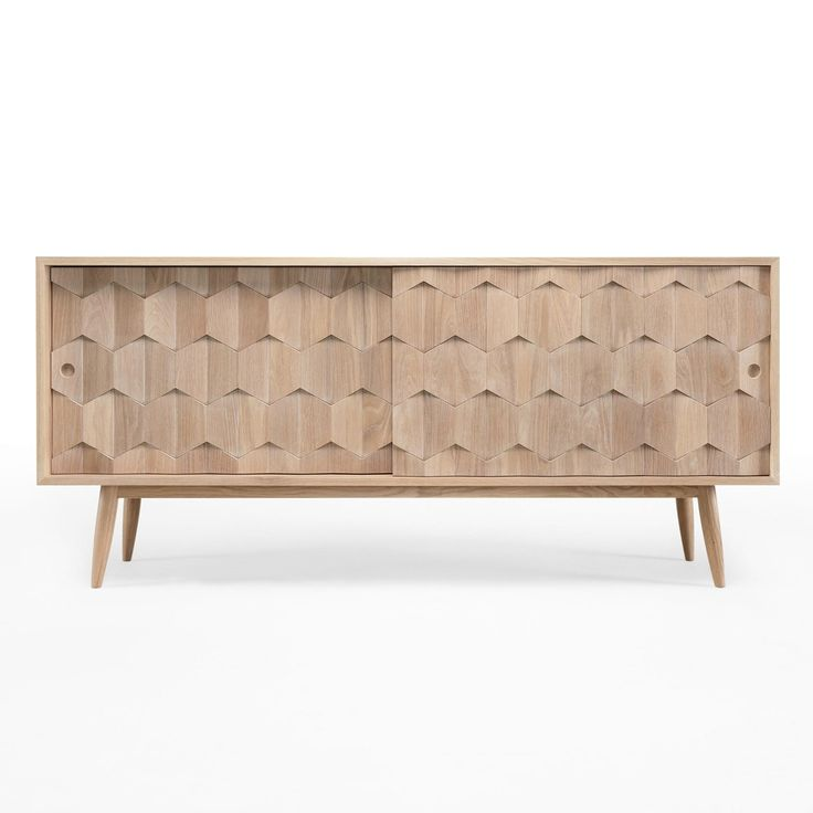 Wewood Scarpa Solid Oak Sideboard | Available from Beut.co.uk