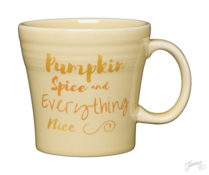 Fiesta Dinnerware introduces new Pumpkin Spice and Everything Nice design. Available June 2017. | www.alwaysfestive.com