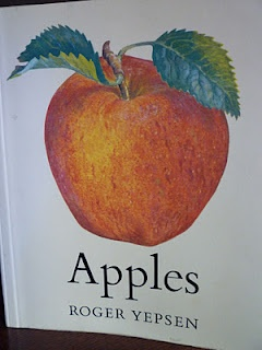 *Apples* by Roger Yepsen is like a tiny coffee-table book, or a reference book for the kitchen, or the orchard....