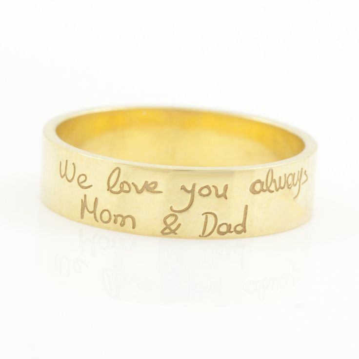 HANDWRITING RING 4.7mm