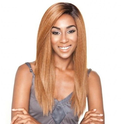 Luxe Beauty Supply - Isis Brown Sugar Human/Syn Lace Wig - BS 604, $59.99 (http://www.lhboutique.com/isis-brown-sugar-human-syn-lace-wig-bs-604/) #SyntheticLaceFrontWigs #LaceFrontWigs #Isisbrownsugarwigs