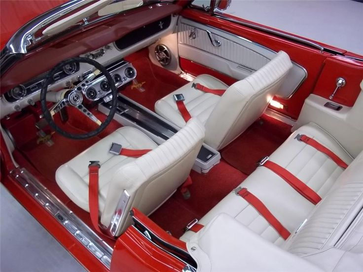 1965 FORD MUSTANG CONVERTIBLE - Barrett-Jackson Auction Company