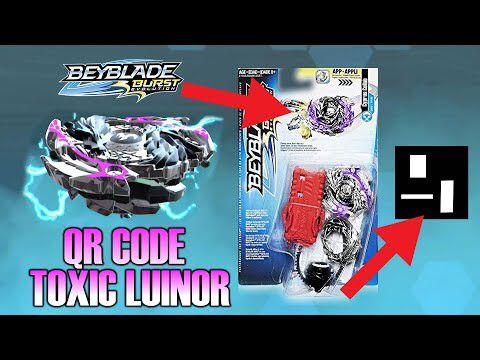 beyblade luinor l4 qr code