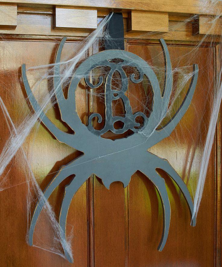 Look at this #zulilyfind! Unfinished Wood Spider Initial Wall Art by Unfinished Wood Co. #zulilyfinds