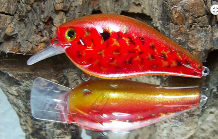 3 x Custom/Standard Painted Lures - Bid For Tackle