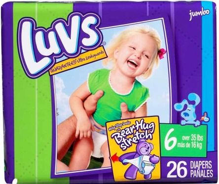 CVS has Luvs Diapers on sale for $6.99 this week. You can pick them up for just $3.99 after coupons and Extra Care Bucks. Here's how...