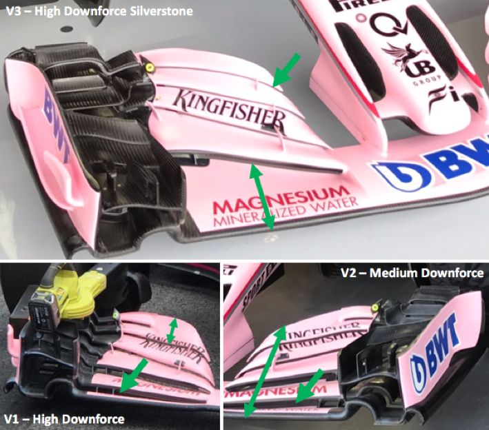 Silverstone F1 upgrades inspected https://racingnews.co/2017/07/20/silverstone-f1-upgrades-explained/ #f1
