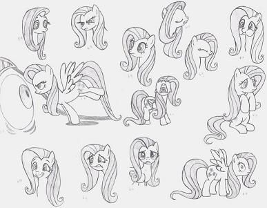 The Geek Professor » How I Learned to Draw My Little Pony Art