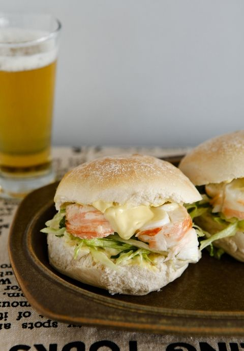 Crayfish (lobster) burger from Lauraine Jacobs