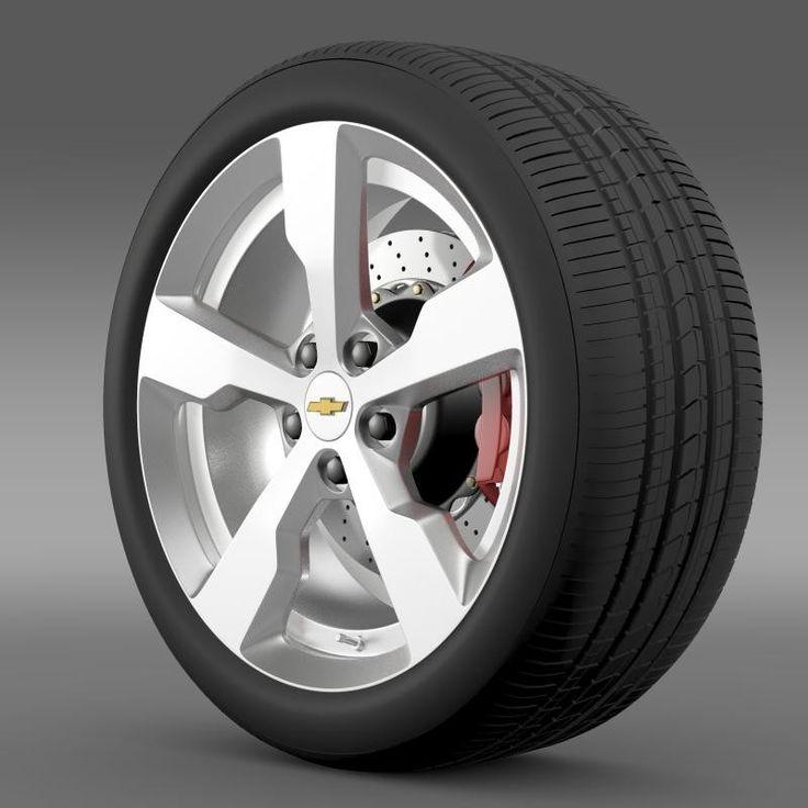 3D Chevrolet Volt Wheel - 3D Model