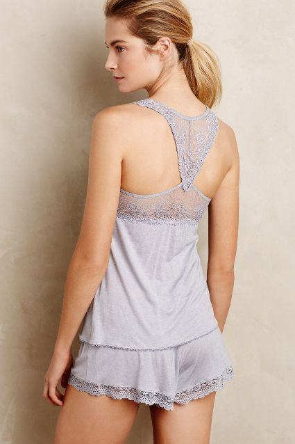 Eberjey Colette Racerback Camisole #anthrofave #anthropologie.com