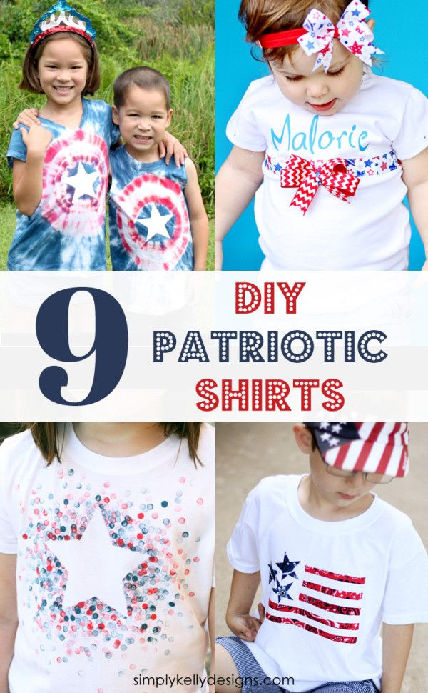 9 patriotic DIY shirt ideas for the 4th of July
